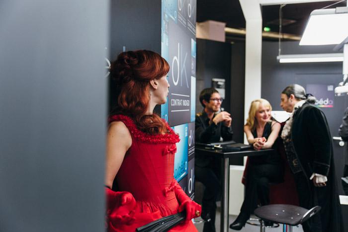 Les d cal s animation dracula salon adf - Animation stand salon ...