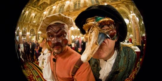 Soirée Baroque - Masques © Les Décalés