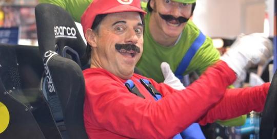 Faux Mario Luigi © Les Décalés