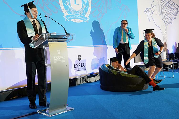 Remise de diplôme ESSEC